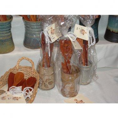 Gift Set with utensil holder