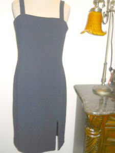 Lauren Ralph Lauren Dress Size 6 Dark Navy Blue New Sleeveless Tank Style NWOT