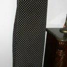Polka Dots Dress Size 12 Black Beige Hillard & Hanson Tank Style Sleeveless EUC