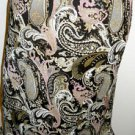 Esprit Skirt Size 6 Brown Pink Beige Floral Paisley A Line Below Knee New NWOT