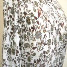 Ann Taylor LOFT Size M Sweater Rayon Cotton Silk Floral Excellent Preowned EUC