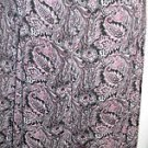Liz Claiborne Skirt Size 6 Petite 6P Floral and Paisley Purple Hues New with Tag