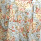 Lauren Ralph Lauren Size 8 Shorts Blue Floral Linen Designer Excellent Preowned