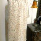 Adrienne Vittadini Size M Silk Pants Slacks Floral Designer Wide Leg Good Used