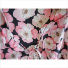 New York & Company Size 14 Cover-Up Misses Floral Beach Ruffle Dogwood Print New