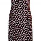Burgundy Floral Dress Size 9  Byer California Full Length New NWOT