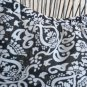 Maggy London 18 Maxi Skirt Silk Black White Floral Ruffled Hem New No Tags