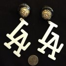 """LA"" fashion earrings"