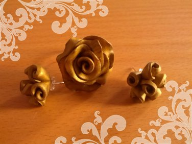 Ring & earrings matching set