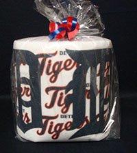 Detroit Tigers Heat Pressed Toilet Paper