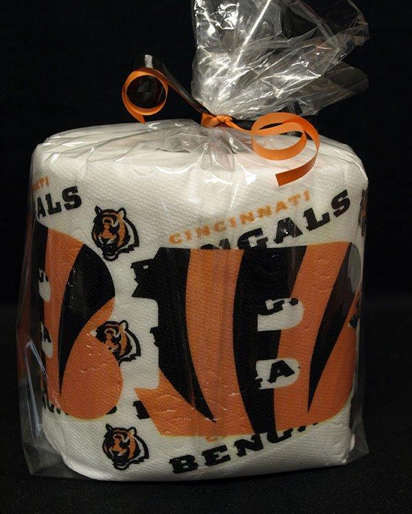 Cincinnati Bengals Heat Pressed Toilet Paper