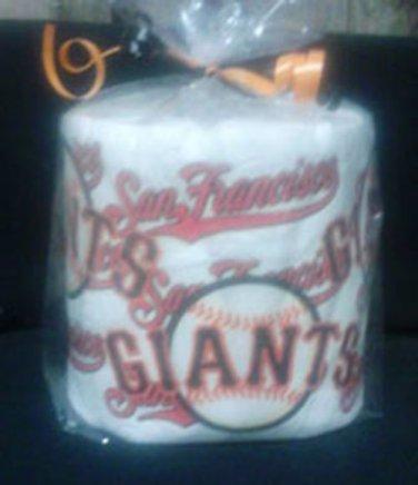 SF Giants Heat Pressed Toilet Paper