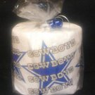 Dallas Cowboys Heat Pressed Toilet Paper