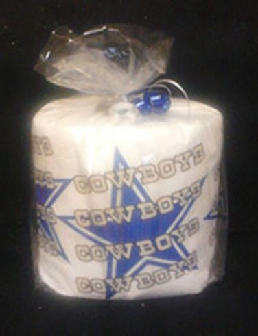 Cowboys Heat Pressed Toilet Paper