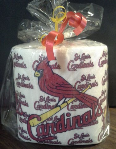 St. Louis Cardinals Heat Pressed Toilet Paper