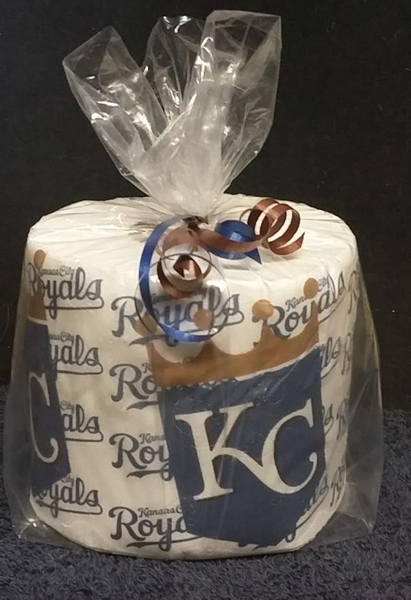 Kansas City Royals Heat Pressed Toilet Paper