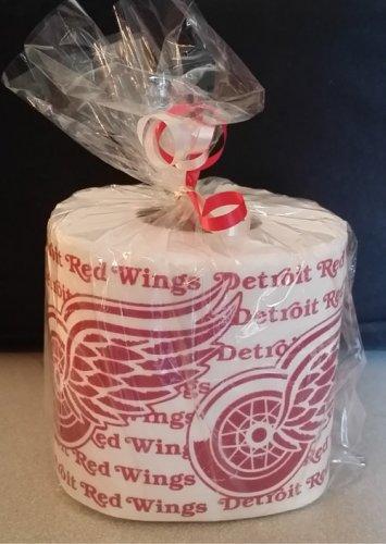 Detroit Red Wings Heat Pressed Toilet Paper