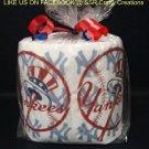 NY Yankees Heat Pressed Toilet Paper