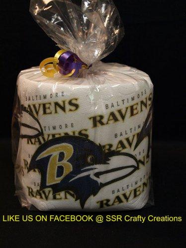 Baltimore Ravens Heat Pressed Toilet Paper