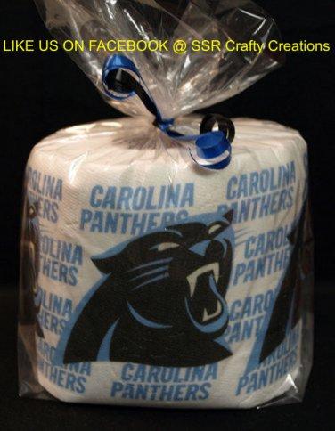 Carolina Panthers Heat Pressed Toilet Paper