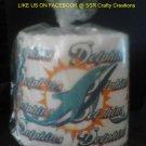 Miami Dolphins Heat Pressed Toilet Paper