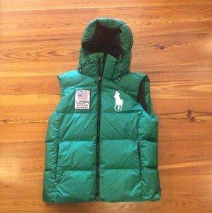 Usa Tyrol Polo Puffer Vest Big Hood Green Lauren Ski Down Ralph Pony T1JuFK5lc3