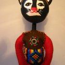 OOAK Art Doll LadyCat 'Nat'