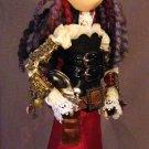 OOAK Steampunk Art Doll 'Annie'