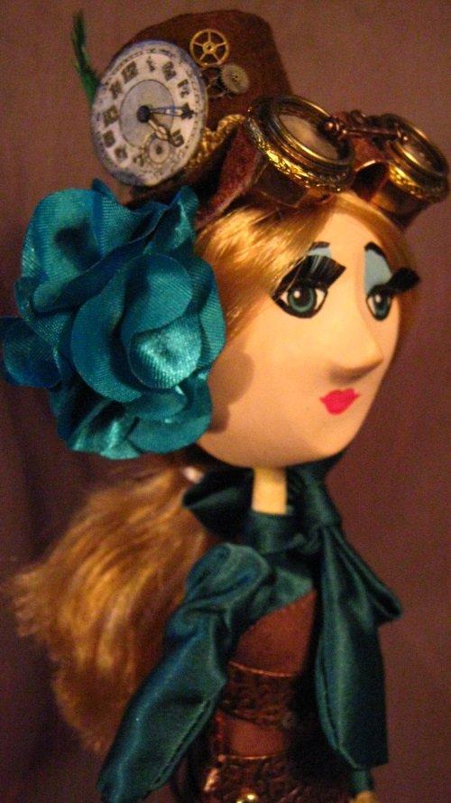 OOAK Steampunk Art Doll 'Sarah'