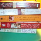 Madeline Hunter   Lot of 6 books