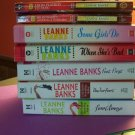 Leanne Banks lot of 8 books