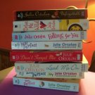 Julie Ortolon lot of 8 books