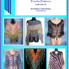 25 Poncho Patterns EBook #2 Crochet Patterns by Cindy Kamps