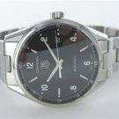 GENTS TAG HEUER CARRERA CALIBRE 5 WV211B AUTOMATIC DATE STAINLESS STEEL WATCH