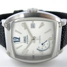 GENTS ORIS FRANK SINATRA STAINLESS STEEL WATCH WITH STINGRAY BAND LIMITED EDIT
