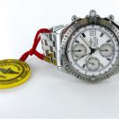 BREITLING A13352 WINDRIDER CHRONOMAT AUTOMATIC STAINLESS STEEL WHITE DIAL WATCH