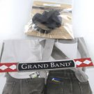 GRAND BAND MONEY CLIP 6 ELASTIC BAND REPLACEMENT PART BLACK NEW