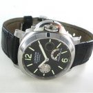 PANERAI PAM 125 STAINLESS STEEL WATCH LEATHER AUTOMATIC POWER RESERVE WRISTWATCH