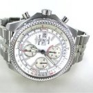 BREITLING BENTLEY A13363 STAINLESS STEEL MENS WATCH CHRONO CONTINENTAL GT DATE