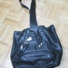 Women's Tumi Leather Cross Body Handbag Black comes with dust bag purse handbag