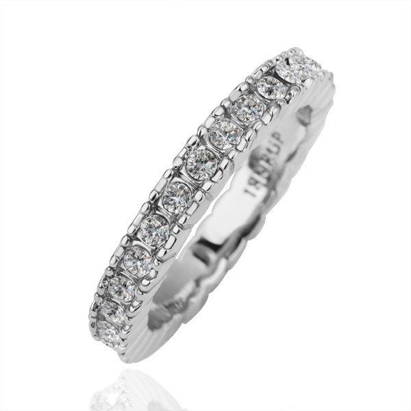 18KGP R156 18K Platinum Plated Ring Nickel Free size6/8/9/10