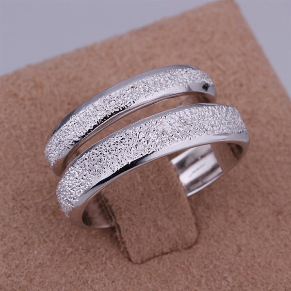 ER017 Platinum Plated Set,gemstone silver Rings,Rings Size Female7-16,Male13-24