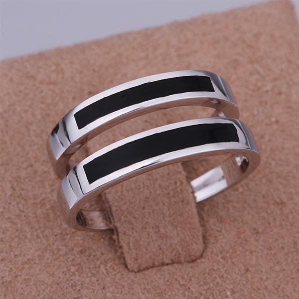 ER018 Platinum Plated Set,gemstone silver Rings,Rings Size Female7-16,Male13-24