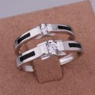 ER024 Platinum Plated Set,gemstone silver Rings,Rings Size Female7-16,Male13-24