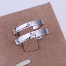ER034 Platinum Plated Set,gemstone silver Rings,Rings Size Female7-16,Male13-24