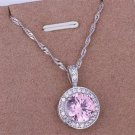 PD016 Platinum Plated Silver Necklace,necklace length approximately18~20 inches