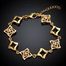 KZCB003 Freeshipping 18K gold plated bracelet, Fashion jewelry, Austrian Crystal