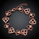 KZCB006 Freeshipping 18K gold plated bracelet, Fashion jewelry, Austrian Crystal