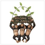 34512 Welcome To My Jungle Sign
