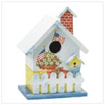 #37892 American Birdhouse